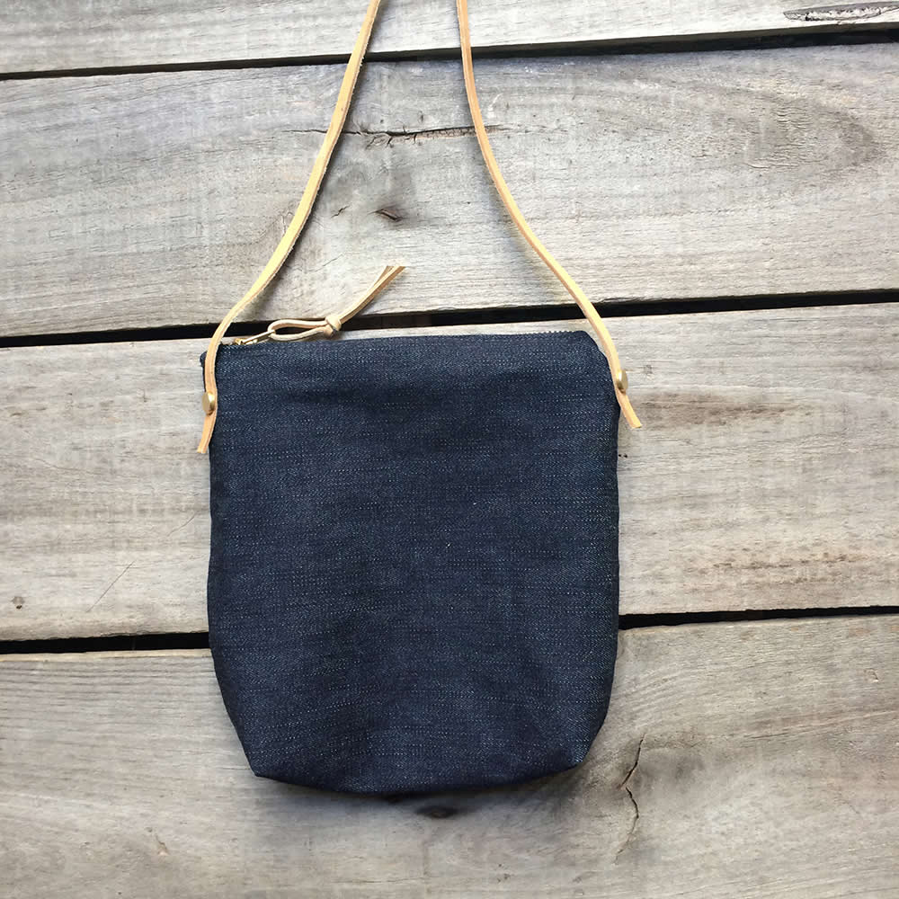 Blue Jeans cross body bag